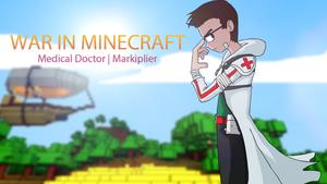 Markiplier | War In Minecraft Poster