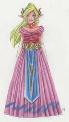 WW Zelda concept art by Renata-Greynoria