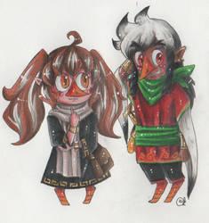 Neli and Larry by Renata-Greynoria
