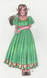 Aria the lost maiden of Hyrule by Renata-Greynoria