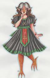 Bday gift: Lydia by Renata-Greynoria