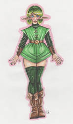 Saria redesign by Renata-Greynoria