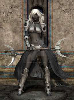 Drow Warrioress Tssith'nara
