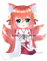 C: Cysh drinking tea by kashiyuki