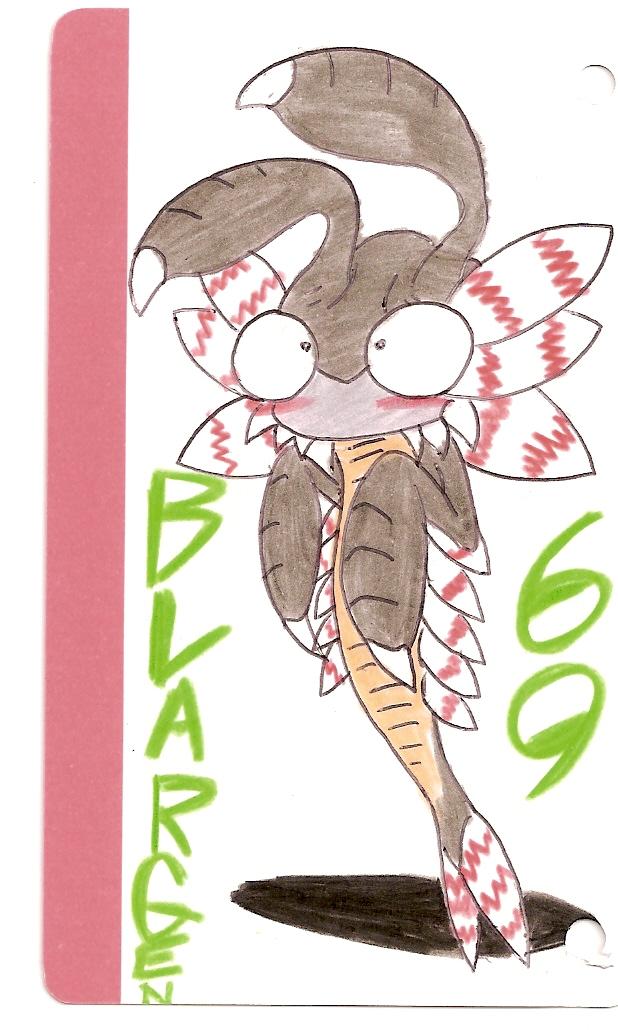Anomalocaris Alien by BLARGEN69