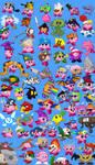 69 Amazing Kirby Copy Abilities!!