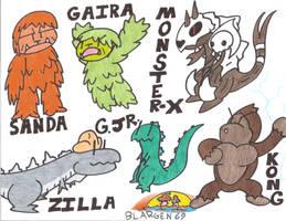 ToonZilla SIX-6 Final Wars by BLARGEN69