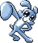 Manta Ray Girl Pixel