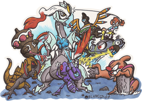 Destroy All Kyurems! by BLARGEN69