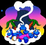 Der Happy Hippos by BLARGEN69