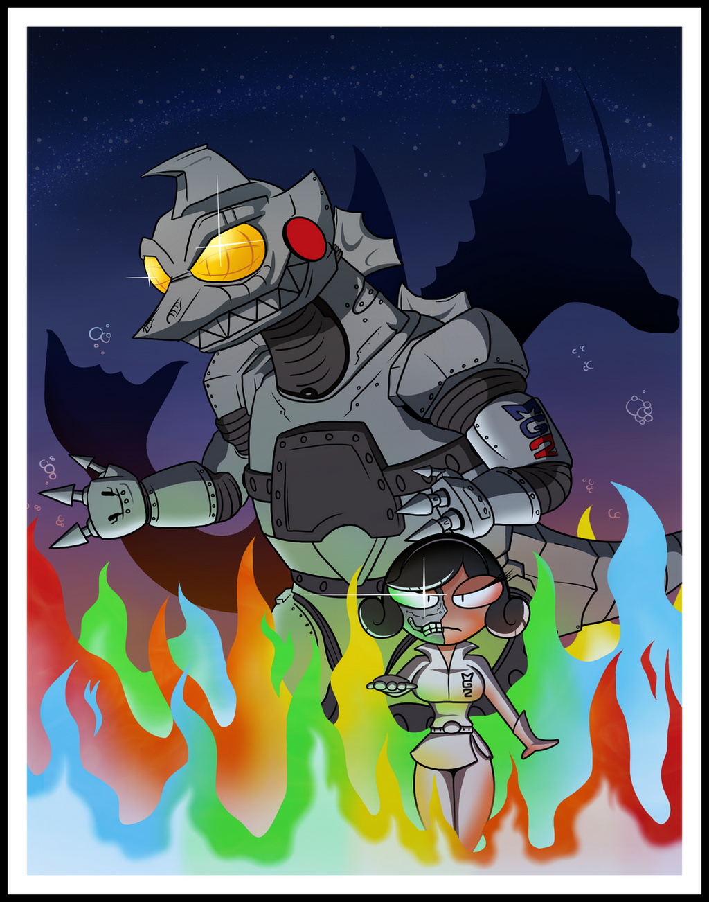 The Terror of Mechagodzilla by BLARGEN69