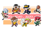 Jojo Part 3 Chibis - Sheet 1