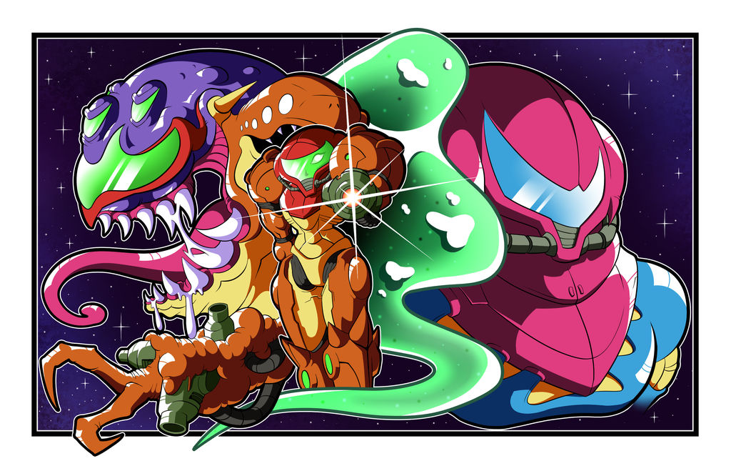 Metroid March - Imperfect Fusion by BLARGEN69
