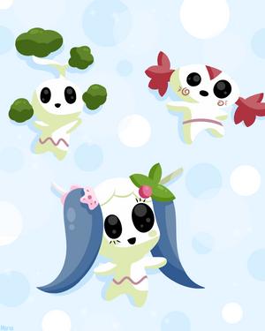 Kodama Triplets by Mana-Chan! by BLARGEN69