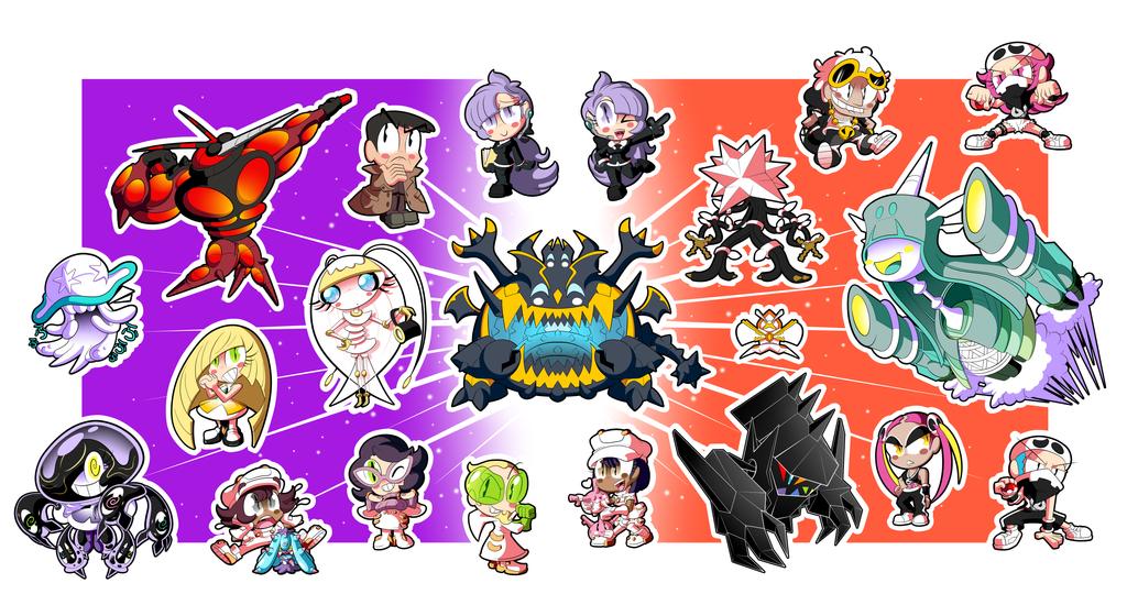 Pokemon Alola Sticker Set! (2 of 3) by BLARGEN69