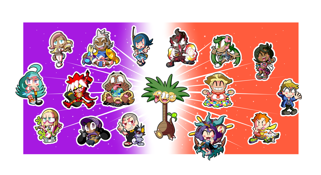 Pokemon Alola Sticker Set! (3 of 3) by BLARGEN69