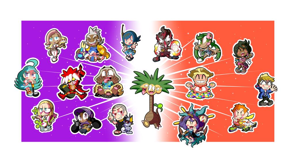 Pokemon Alola Sticker Set! (3 of 3) by BLARGEN69