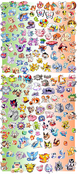 Pokemon Super Sticker Collection! KANTO Edition!!