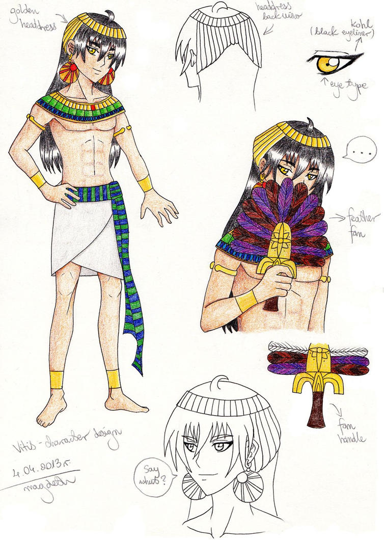 Character Design Competition : Vitis character design for contest by magoleth on deviantart