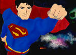 Superman Returns to Space.
