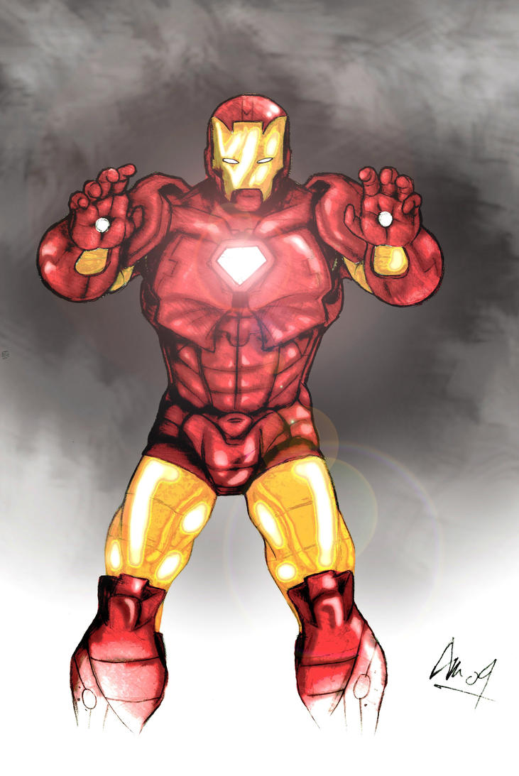 ironman colour by the king in my world - Iron Man Pictures To Colour