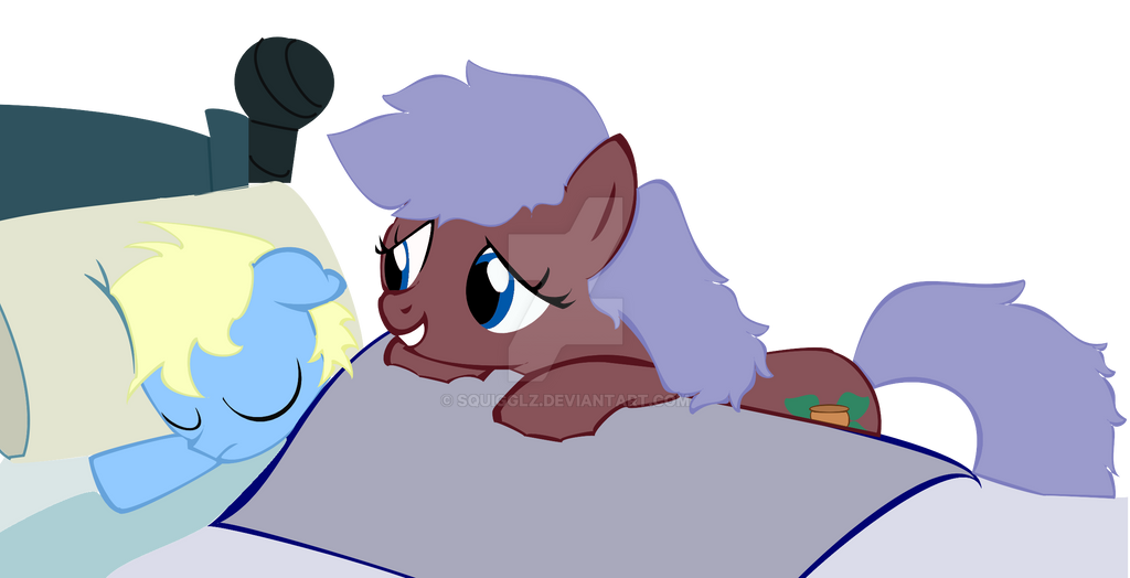 Ashes sleeping by Squigglz