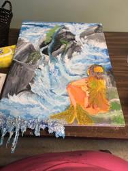 Mermaid Rocky Shore