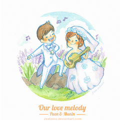 Our love melody by zestzero