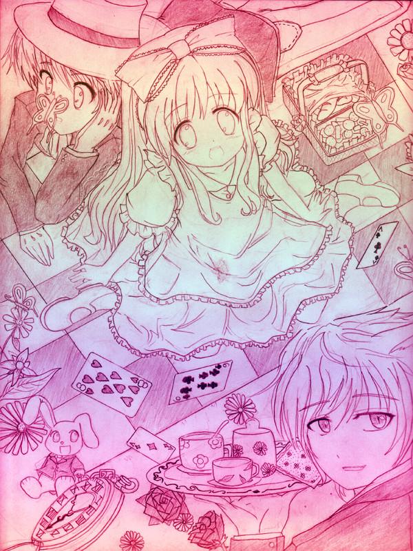 Alice in Wonderland2 by AkiraYumi