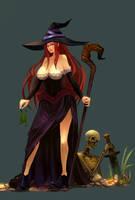 Sorceress by AkiraYumi