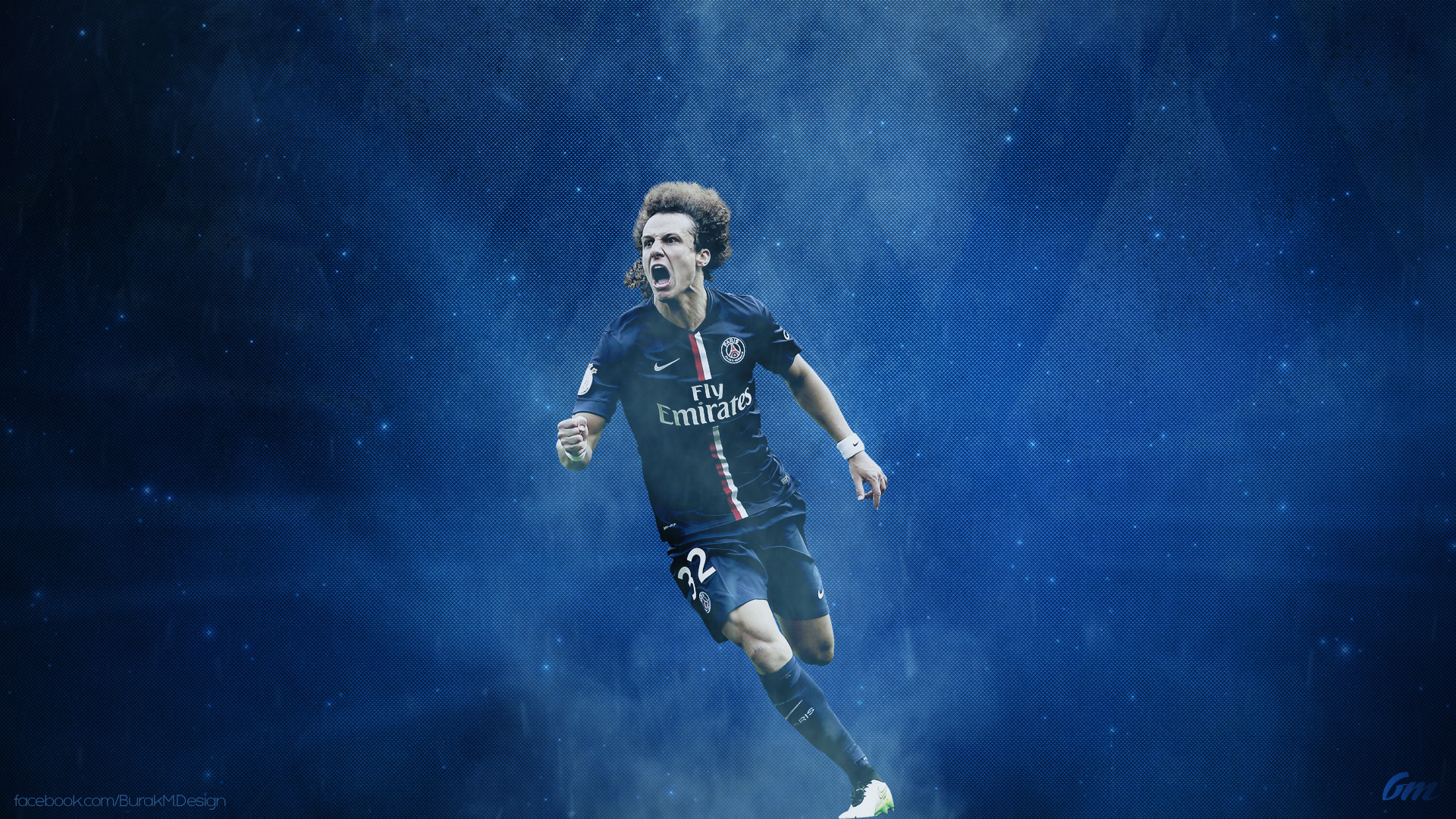 David Luiz WP By BurakMDesign