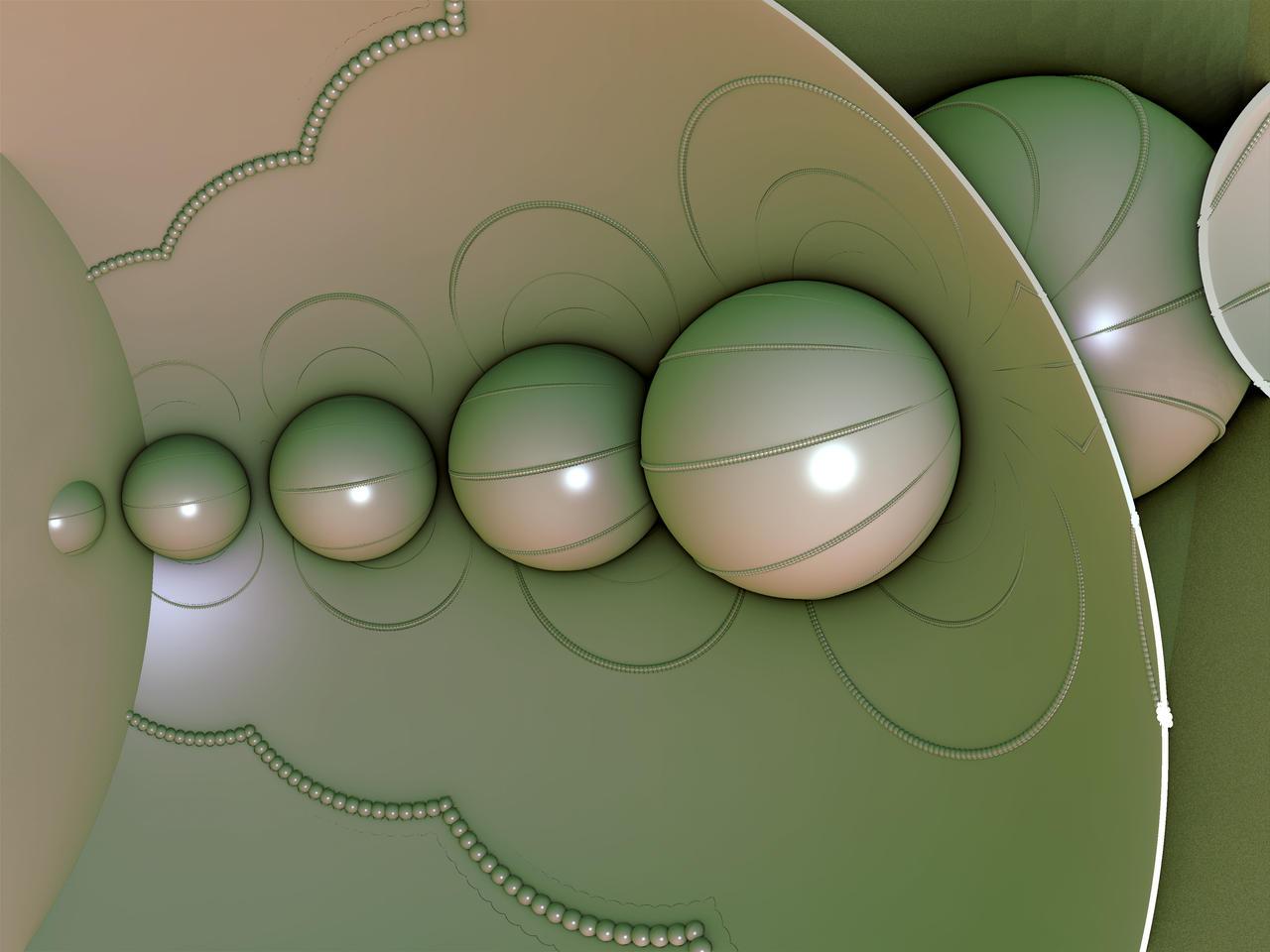Plastic spheres
