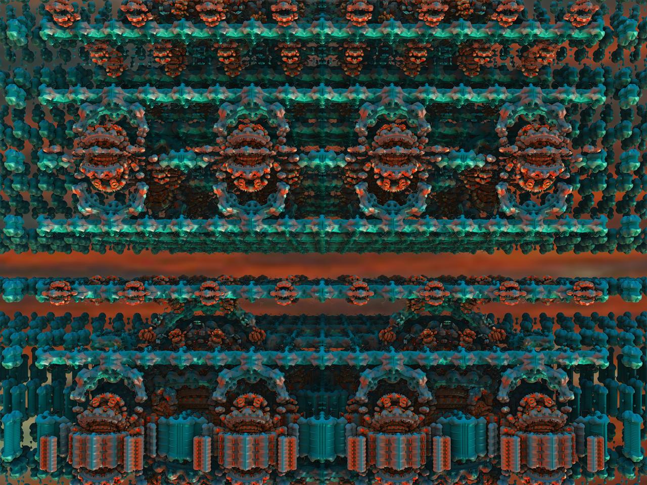 Alien candy factory