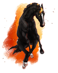 #A4554 Etian the Everburning by horsefreek151