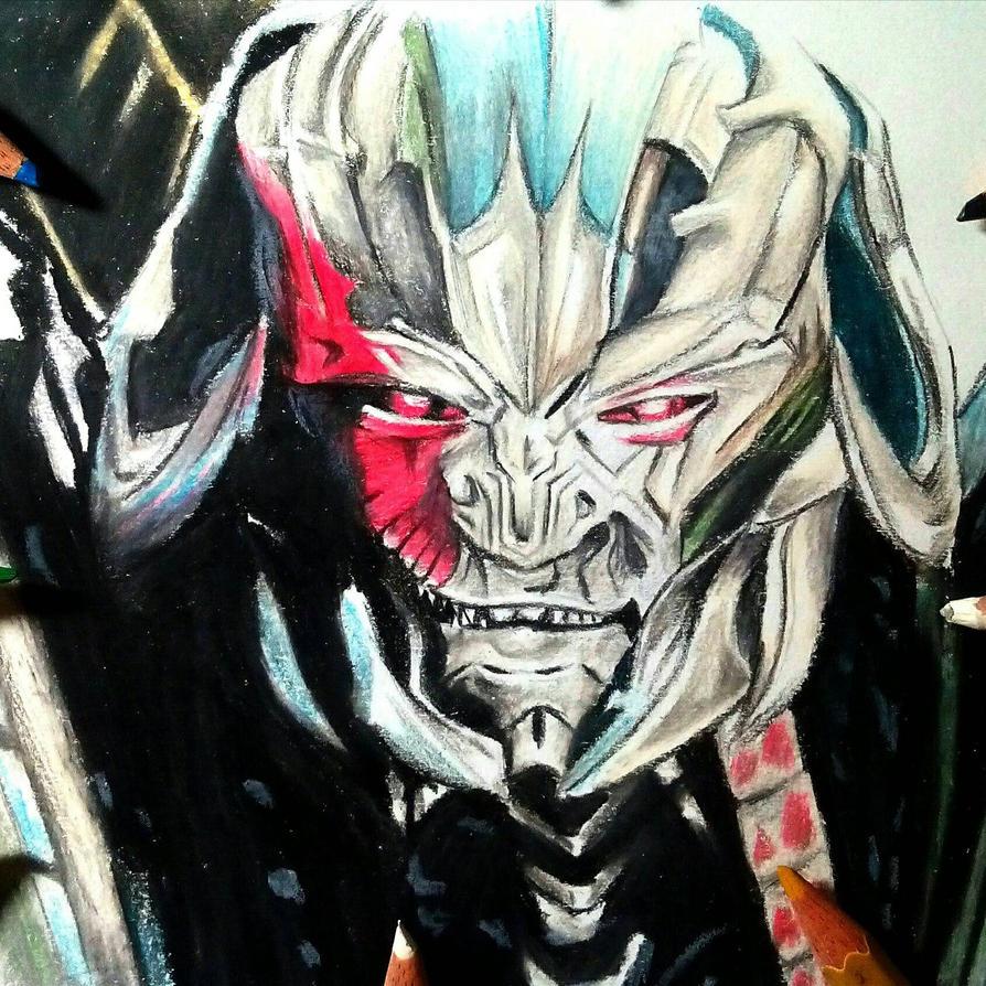 #Megatron # Colored_Pencil_Art by Pranjalshrivastava