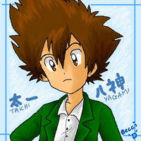 Taichi Yagami by Mysterious-D