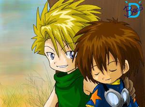 Cutie Matt and Tai