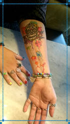 My Tattoo (Left Arm) by Mysterious-D