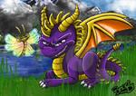 Spyro the dragon and Sparx