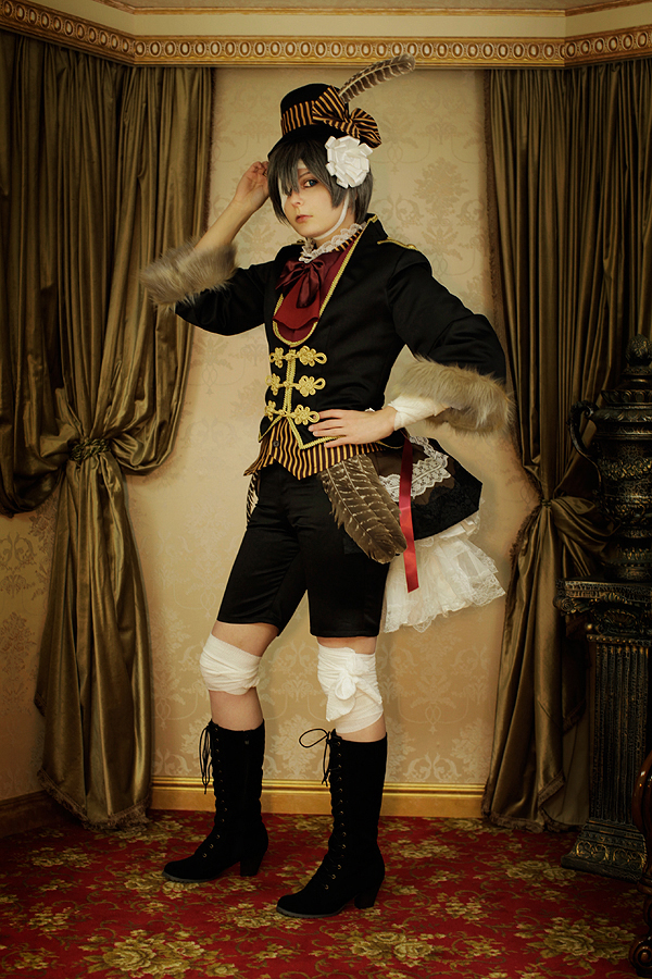 Ciel Phantomhive-Turkey by juunana