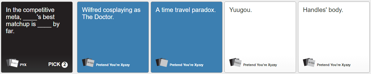 Cards Against Humanity 360 by thetrollsapprentice