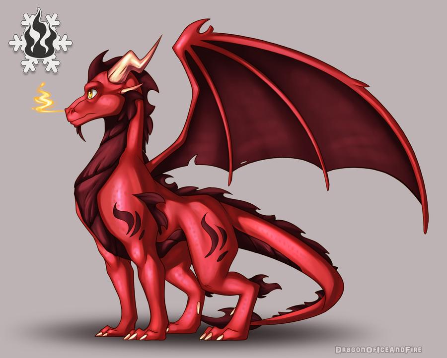Commission - AshDragon93 (2/4) by DragonOfIceAndFire