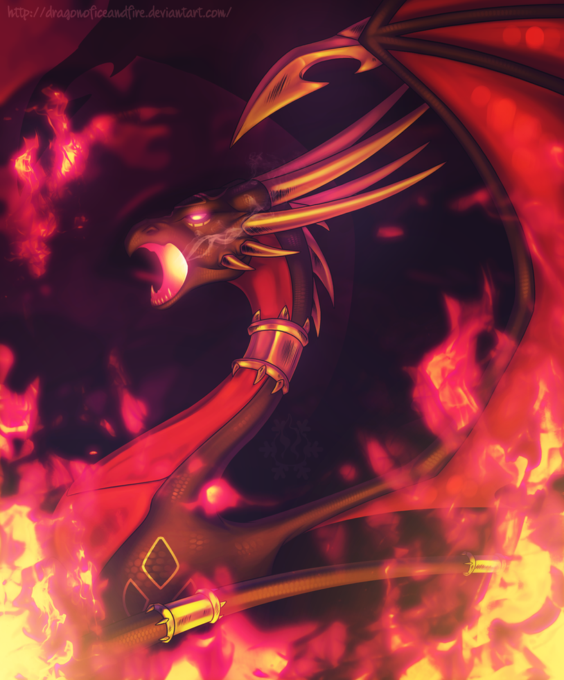 9 Dragon Flame Of Recca Dragons: Dark Fire By DragonOfIceAndFire On DeviantArt