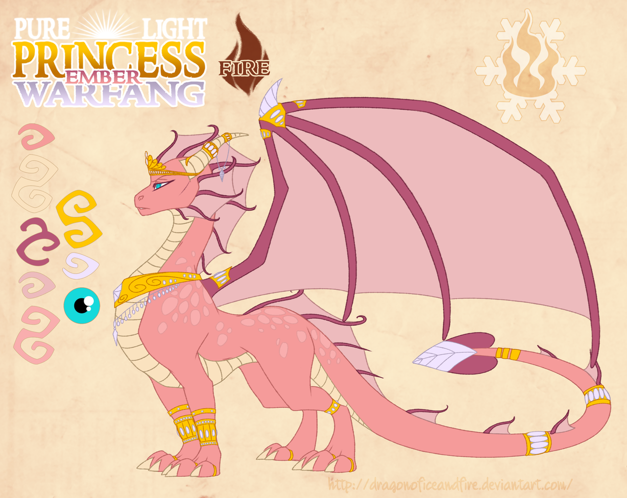 Pure light princess ember warfang by dragonoficeandfire on deviantart - Prinses pure ...