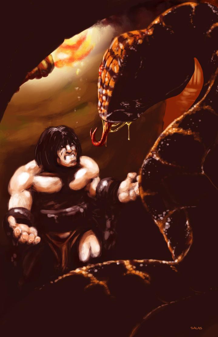 Barbarian by RAMONSALAS