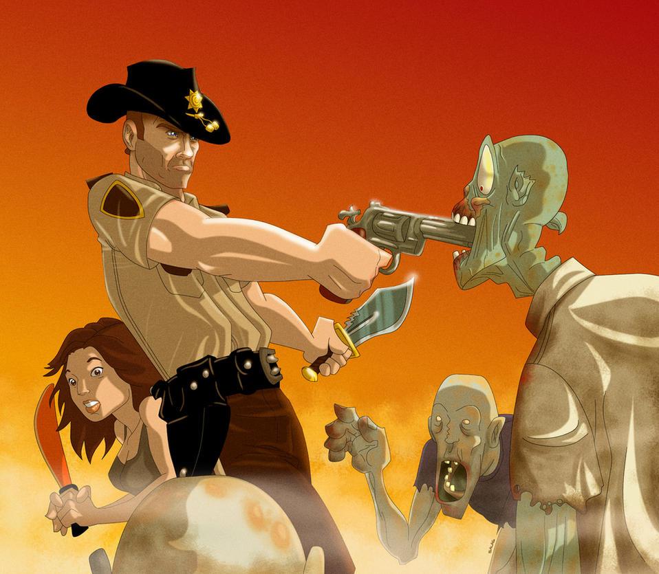 The Walking Dead by RAMONSALAS