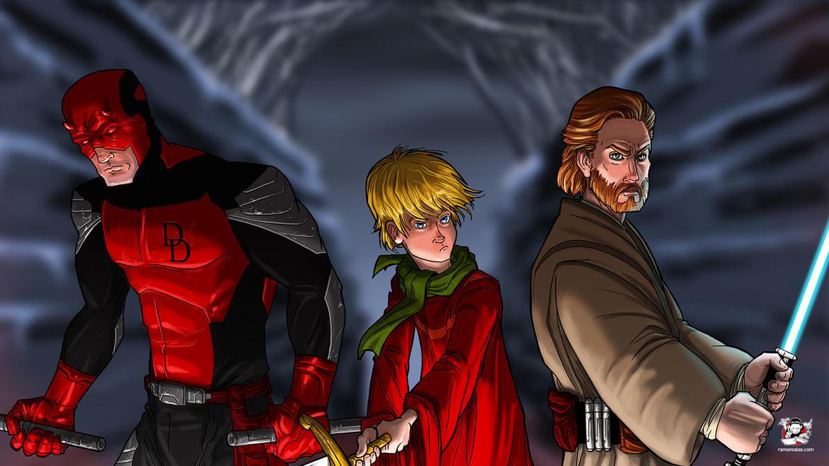 Knights by SALAS by RAMONSALAS