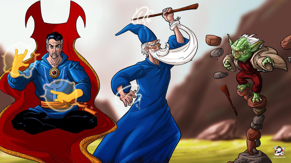 Wizards by SALAS by RAMONSALAS