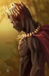 Black Panther, by SALAS