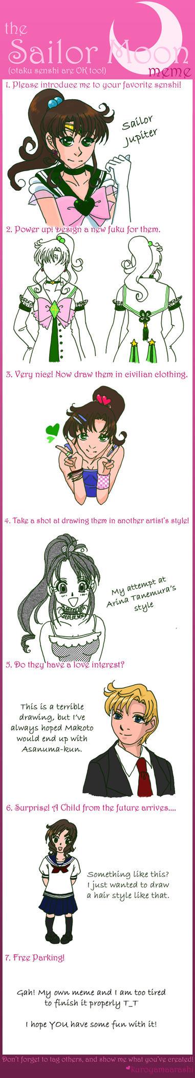Sailor Moon meme - Jupiter by skelly-jelly